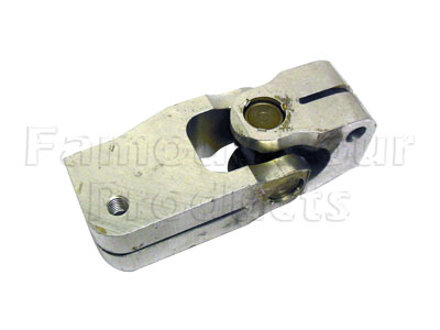 Lower End of Lower Steering Shaft Universal Joint