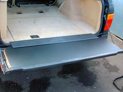 Lower Tailgate Internal Plastic Protector -  -