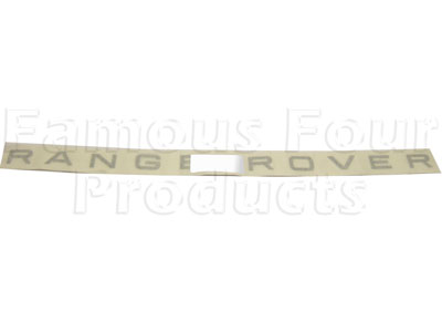 Picture of FF003333 - RANGE ROVER Bonnet Decal