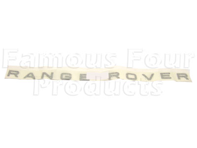 Picture of FF003334 - RANGE ROVER Bonnet Decal