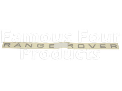 Picture of FF003336 - RANGE ROVER Tailgate Decal