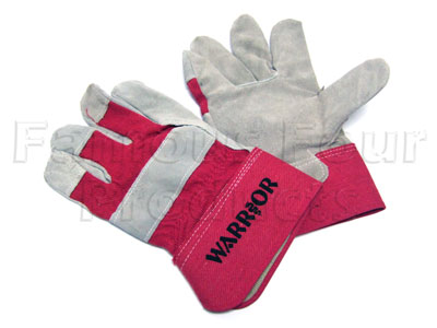 Riggers Leather Palmed Gloves - Land Rover and Range Rover