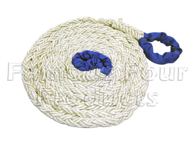 Kinetic Energy Recovery Rope