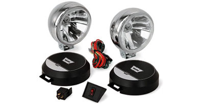 WARN 4X Spot Lamp Kit - Land Rover and Range Rover