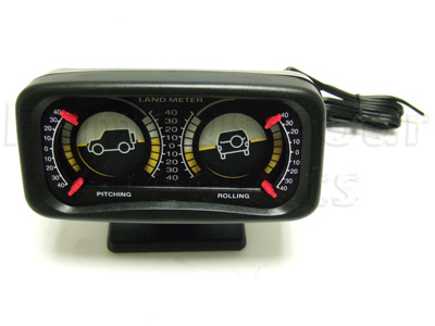 Pitch and Roll Dual  Dial Inclinometer with Illumination wiring
