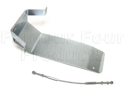 Salisbury Rear Axle Differential Guard - Land Rover and Range Rover
