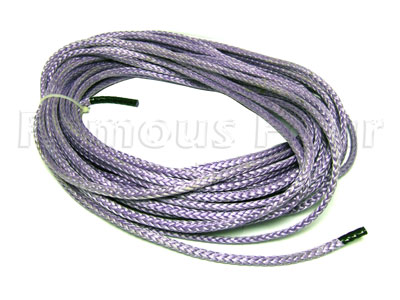 Plasma Lightweight High Strength Winch Rope - 30m Rope Only - Land Rover and Range Rover