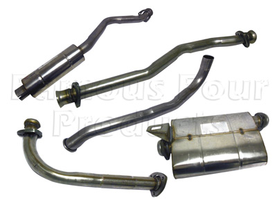 Picture of FF003572 - Stainless Exhaust System