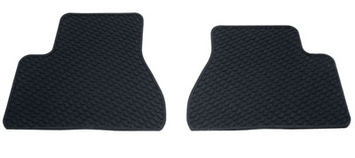 Footwell Rubber Mats -  -