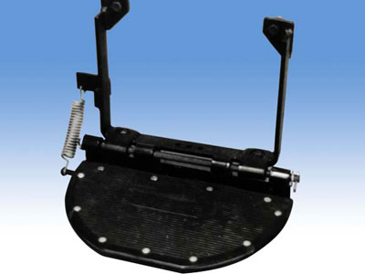 FF003651 - Folding Individual Side Step - Land Rover Series IIA/III