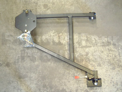 Swing Away Wheel Carrier For Soft Top Amp Truck Cab