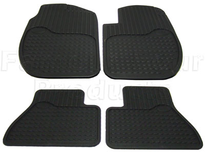Rubber Mat Set -  -
