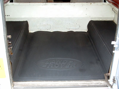 Picture of FF003746 - Extended Rear Loadspace Rubber Mat