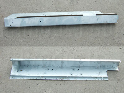 Outer Sill Panel - 4-Door