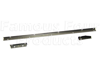 FF003815 - Front Outer Wing to Inner Wing Top Mounting Rail Kit - 3 pieces - - Range Rover Classic 1986-95 Models