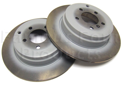 Picture of FF003872 - Rear Brake Discs (Solid)