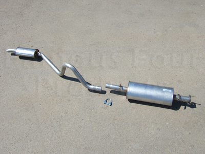 Centre & Rear Silencer Assy