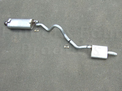 Centre & Rear Silencer Kit