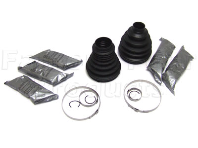 Front Driveshaft Rubber Boot Kit