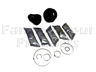 Rear Driveshaft Rubber Boot Kit