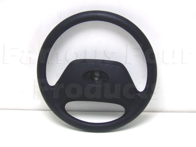 Picture of FF004018 - Steering Wheel - 2-spoke Black Plastic