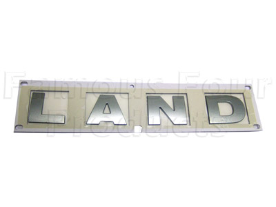 Picture of FF004075 - LAND Lettering