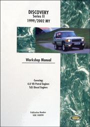 Land Rover Discovery II 1999-2002 Workshop Manual