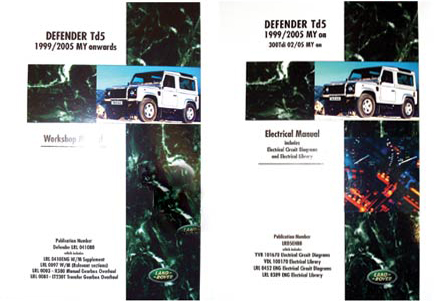 Land Rover Electrical Manual -  -