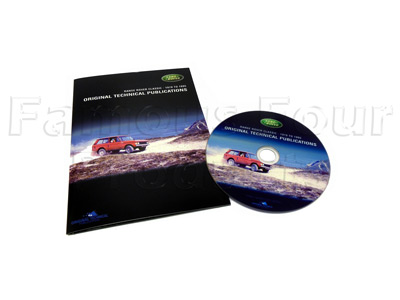 DVD - Parts Catalogue/Service Publications/Owners Handbooks