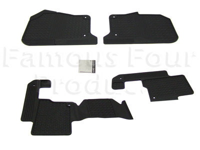 Picture of FF004180 - Rubber Footwell Mat Set