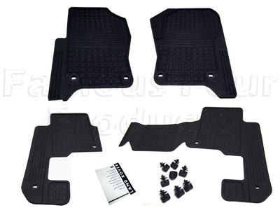 Picture of FF004181 - Rubber Footwell Mat Set