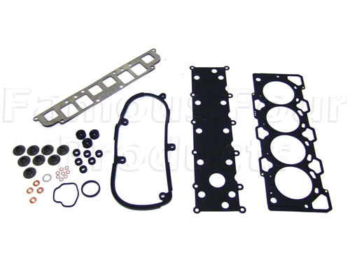 Head Gasket Overhaul Set - all required gaskets & seals inc. 3-hole Head Gasket