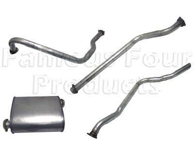 Picture of FF004376 - Full Mild Steel Exhaust System