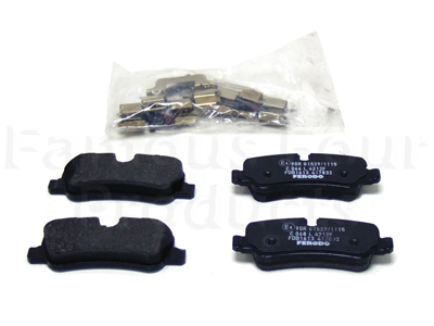 Picture of FF004451 - Brake Pads