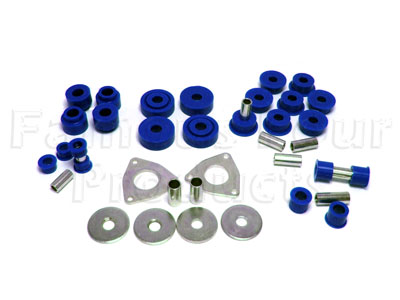 Picture of FF004491 - Polyurethane Chassis Bush Kit (Radius Arms & Panhard Rod)