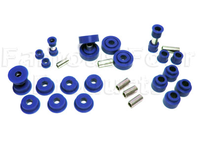 Picture of FF004492 - Polyurethane Chassis Bush Kit (radius arms & panhard rod)