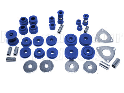 Picture of FF004506 - Polyurethane Chassis Bush Kit (Radius Arms & Panhard Rod)