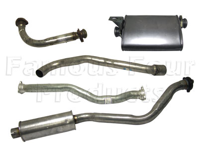 Picture of FF004514 - Full Mild Steel Exhaust System