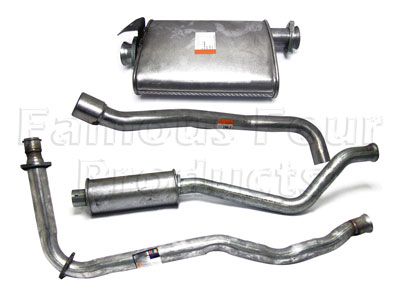 Picture of FF004515 - Full Mild Steel Exhaust System