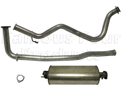 Picture of FF004549 - Full Mild Steel Exhaust System