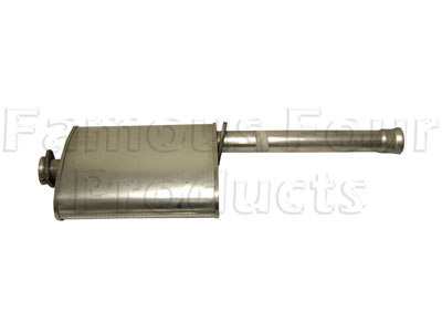 Mild Steel Centre Silencer -  -