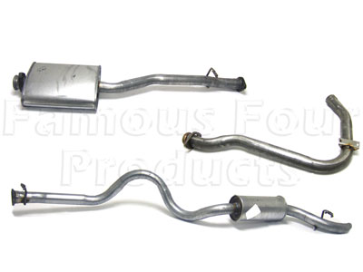 Picture of FF004589 - Full Mild Steel Exhaust System