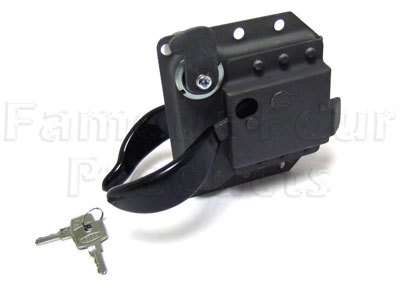 Picture of FF004839 - Door Handle - with barrel & key