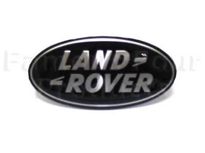 Picture of FF004883 - Oval Land Rover Badge - Front