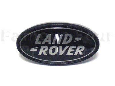 Picture of FF004884 - Oval Land Rover Badge - Rear