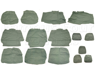 Picture of FF004902 - 2nd & 3rd Row Waterproof Seat Covers