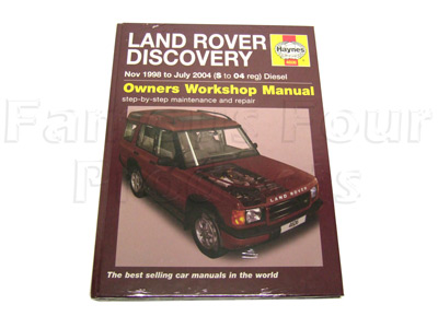 Land Rover Discovery TD5 Workshop Manual