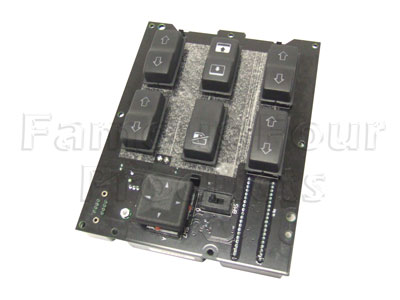 Picture of FF004939 - Switch Pack - centre console - for electric window lift sunroof & mirrors.
