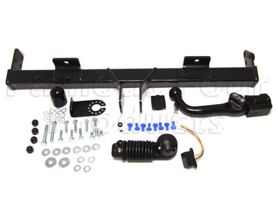 Picture of FF004949 - Detachable Swan-neck type tow bar kit with N type electrics