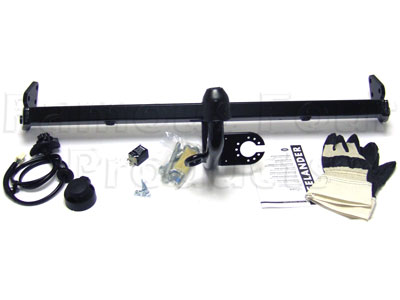 Swan-neck towbar kit with N type electrics -  -